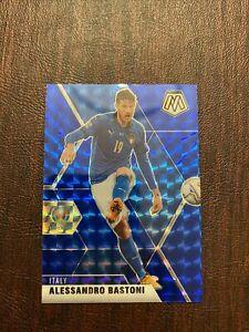 2020-21 Mosaic UEFA Euro #132 Alessandro Bastoni Blue Mosaic /99 SP Italy NMT