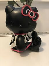 Rare Hello Kitty MAC Cosmetics Black Leather Toy Collectable Limited Edition