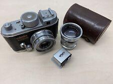 Robot Junior Camera Berning with 38mm f2.8 Xenar + 75mm f3.8 Lens
