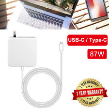 87W USB-C Power Adapter Charger For A1719 MacBook Pro 13 15 Inch 2016 2017 2018