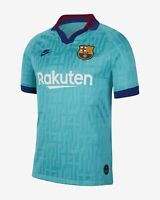 Nike 2019-20 FC Barcelona Third Jersey - Teal