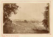 France, Vosges, Saverne de Schittenbach Vintage Albumen Print Tirage albuminé