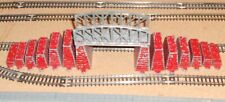 Lone Star 000/N Gauge Full 'Up & Down' Set (14)Track support piers