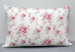 Cath Kidston Designer Cushion Cover Pretty Pink 'Washed Roses' Floral Design