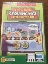 Pick A Trick Sequencing Interactive Game CD-Rom Pre K-K NEW