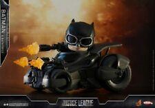 HotToys COSB399 Justice League Bruce Wayne Batman & Batmobile COSBABY