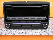 VW AUTORADIO CD RADIO RCD 310 MP3 GOLF 5 6 PLUS POLO 6R TIGUAN SHARAN T5 + CODE
