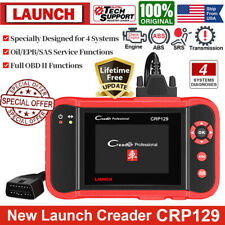 Launch CRP129 Scanner OBDII Auto ABS SRS Diagnostic Tool EPB SAS Oil Reset Tool