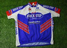 RARE CYCLING SHIRT JERSEY MAGLIA TRIKOT QUICK STEP VERMARC EDDY MERCKX SIZE 12