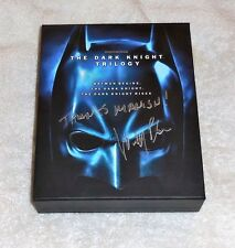 THE DARK KNIGHT TRILOGY 5 DISC BLU RAY!  SIGNED BY A.A. WINNER WALLY PFISTER!