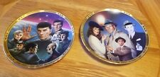 Star Trek The Next Generation The Episodes Collector Plates Set of 8 with Coa's