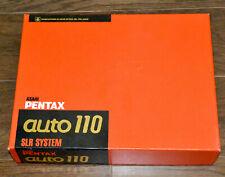 Kamera ASAHI Pentax,auto 110,SLR System;Set+ Originalverpackung,SAMMLERSTÜCK