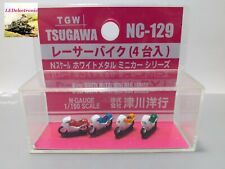 TGW 1/150 N Scale NC-129 Racer Motorcycle (4 units), diorama/model railway