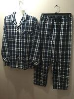 BNWT Mens Sz Large Coast Clothing Co Navy/White Check Long Pyjamas RRP $60