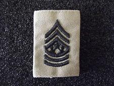 ^ US Rangabzeichen Command Sergeant Major Wendeabzeichen für Nässeschutz Desert