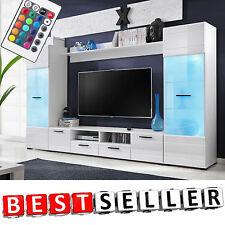 Living Room Set Tv Unit Cabinet Furniture Wall Shelf Cupboard Stand Gloss Modern