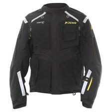 KLIM BADLANDS GORE TEX MOTORCYCLE JACKET BLACK WATERPROOF WP SIZE LARGE L J&S
