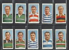 CHURCHMAN - RUGBY INTERNATIONALS - FULL SET OF 50 CARDS