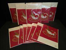 13 Burgoyne Christmas Cards 3 Dimensional Sealed New Arts & Crafts Holiday C7
