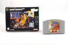 NBA Courtside (Nintendo 64) N64 Spiel in OVP, PAL, TOP, gebraucht