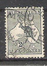C398 Australie 6 gestempeld Kangaroe