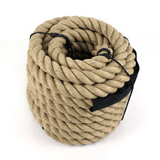 "1-1/2"" x 50' Manila Rope Boat Farm Nautical Landscape Fitness Dock Decorative"