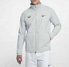 Nike nikecourt Rafa Chaqueta Tenis Hombre 887551-043 Talla XL Nuevo Platino Puro