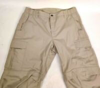 Vertex Phantom Ops Beige Tactical Cargo Pants VTX8600 36 / 30