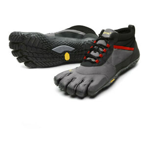 Vibram Mens FiveFingers Trek-Ascent Insulated Walking Shoes Grey Sports Outdoors