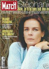 Couverture magazine,Coverage Paris Match 17/10/02 Stéphanie de Monaco