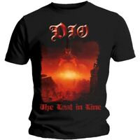 Official Dio T Shirt The Last in Line Black Mens Classic Punk Rock Metal Tee NEW