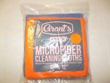 "NEW Grants 63363 - Microfiber Cleaning Cloths 12"" x 12"" 4 colors"