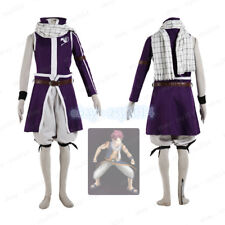 FairyTail Etherious Natsu Dragneel Cosplay Costume V4 Halloween Mens Outfit