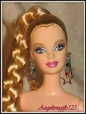 Nude Barbie Long blonde braid Mackie sculpt holiday doll