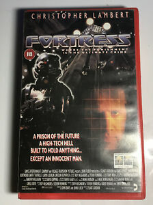 Fortress - BIG BOX EX RENTAL VHS - CHRISTOPHER LAMBERT