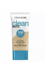 COVERGIRL CLEAN MATE BB CREAM FOR OILY SKIN-#530 LIGHT/MEDIUM - New