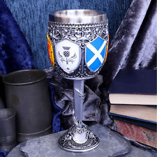 GOBLET OF THE BRAVE SCOTTISH MEDIEVAL TANKARD CHALICE GLASS DRINKING VESSEL
