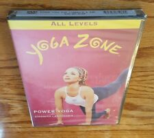 Yoga Zone: Power Yoga For Strength And Endurance (DVD) all levels exercise NEW