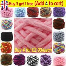 100G skeins yarn Chunky Crochet chenille Milk Soft Baby velvet Knitting Wool TA