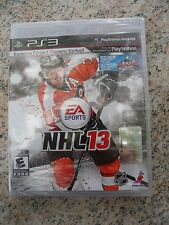 NEW PS3 NHL 13 Sony PlayStation 3 Hockey Game Brand New *Sealed*