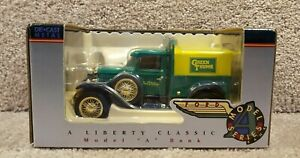 New Liberty Classics Diecast Ford Model A Bank Coin Green Thumb True Value