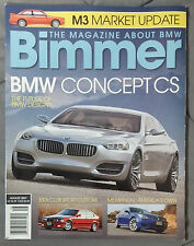 BIMMER BMW MAGAZINE 2007 AUGUST #68 CONCEPT CS M M3 E92 E90 E46 E30 E36 F13 E24