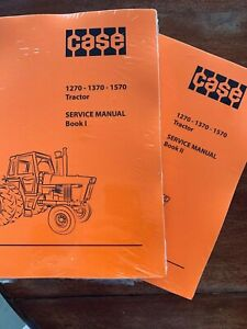 CASE Service Manual for 1270, 1370, 1570 Tractors PRINT VERSION for 3 MODELS
