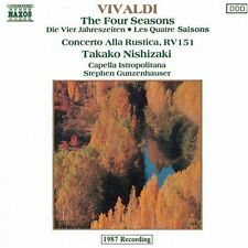 Takako Nishizaki, A. Vivaldi - 4 Seasons [New CD]