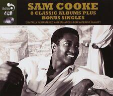 Sam Cooke EIGHT (8) CLASSIC ALBUMS +BONUS Encore HIT KIT Swing Low NEW 4 CD