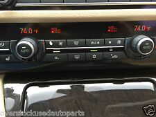 HEATER RADIO SWITCHES CONTROL DISPLAY FACE ORANGE LCD AC CLIMATE SWITCH OC15D288