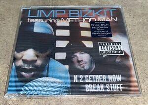 "LIMP BIZKIT featuring METHOD MAN - ""Break Stuff/N 2 Gether Now"" CD Single/Enhanc"