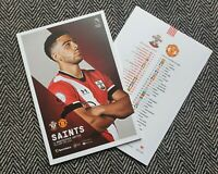 Southampton v Manchester Man United PREMIER LEAGUE Programme 29/11/20! POST NOW!