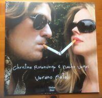 Christina Rosenvingo & NAcho Vegas Verano Fatal pr-owned viny.