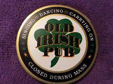 Coaster (1) Old Irish Pub Shamrock